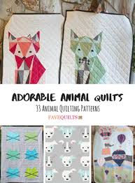 Animal Quilt Patterns