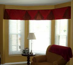 Living Room Bay Window Treatment Cool Valances For Living Room Interior Design To Be Stunning
