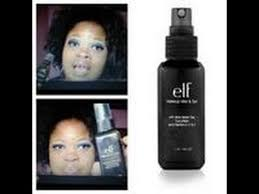 how to apply elf cosmetics studio makeup mist set review demo