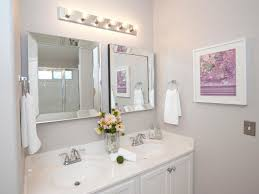 double vanity lighting. Linear Bathroom Vanity Lighting With Double Oval Sink And Wall Decor For Pretty O