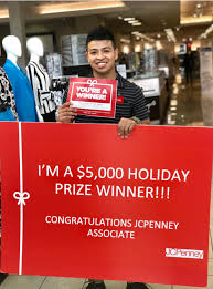 Jcpenney Associate Jcpenney Announces Winners Of Its Associate Holiday Reward Packages