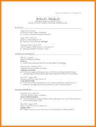 Example Medical Resume Sample Resume For Medical Assistant Sample Resume For Medical 24