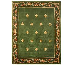 mission style area rugs elegant royal palace for the home qvc