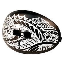 Football Mouth Guard Design Polynesian Design Football Mouthguard