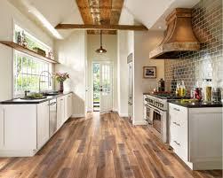 Kitchen With Laminate Flooring 5 Laminates For A Unique Farmhouse Kitchen
