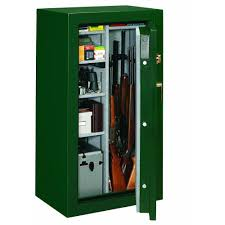 Fire Safe Cabinets Stack On 24 Gun Fire Safe Combination Lock In Matte Hunter Green