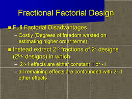 3 Level Fractional Factorial Design Minitab Ppt Fractional Factorial Design Powerpoint Presentation