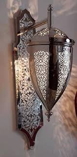 moroccan inspired lighting. Moroccan Inspired Sconces With Intricate Lattice Work. Lighting E