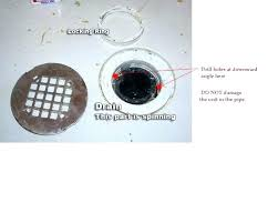 shower drain replacement how to replace a shower drain attached drain replacement from top shower remove shower drain replacement