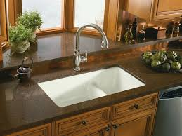 Best Granite Kitchen Sinks Kohler Undermount Kitchen Sinks Cast Iron Best Kitchen Ideas 2017
