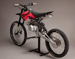 minimoto pit bike meets mountain bike with honda crf xr engine