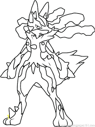 Coloring Pages Of Pokemon Coloring Page Pokemon Coloring Pages Mega