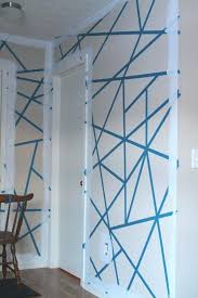 diy accent wall with tape painters tape accent wall 1 more interior home decorations designs