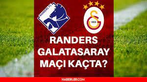 Galatasaray maçı ne zaman? GS maçı saat kaçta, hangi kanalda? Galatasaray -  Rander maçı ne zaman? İşte Galatasaray - Randers muhtemel 11'ler! - Haberler