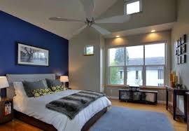 Modern Bedroom Design within Blue Color Scheme