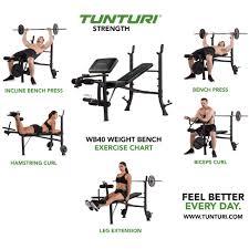 Leg Press Chart Tunturi Weight Bench Wb40