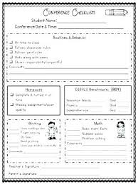 Parent Teacher Conference Form Template Appointment Request Template