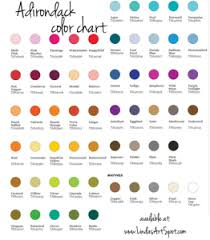 Pinata Ink Color Chart What Brand Of Ink Should I Use Comparing Ranger Adirondack