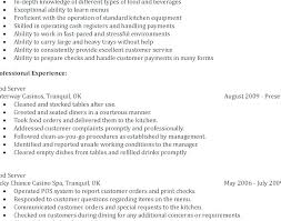 Server Resume Samples Best of Fine Dining Server Resume Example Server Resume Examples Food