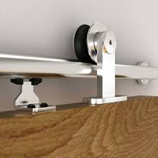the studio barn door style kit with integrated soft close and 2 0 m track onward hardware