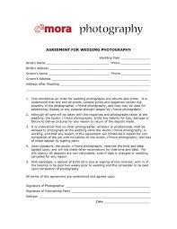 Photography Contracts Photography Contracts Templates 4056