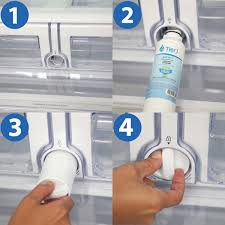samsung fridge water filter replacement. Samsung Comparable Refrigerator Water Filter Replacement By Install Grid On Fridge