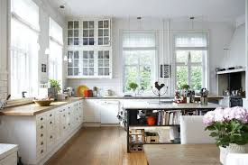Modern Country Kitchen Designs Modern Country Kitchen Design Built In Stoves Oven White Color