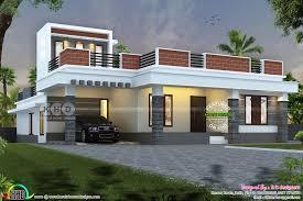 Parapet Design Images Single Floor 44 000 Cost Estimated Home Design Kerala