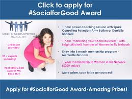 Meet The Host Of The #socialforgood Awards - Erica Ehm Of ...