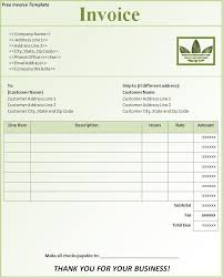 Free Invoice Template Downloads Free Invoice Template Download