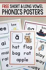 We work with long and short vowel sounds in a diverse and meaningful way. Free Printable Phonics Books And Worksheets Homeschool Giveaways
