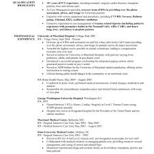 Nurse Resumes Templates Registered Nurse Resume Template Thebridgesummitco Within Free 16