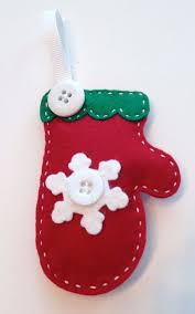 Homemade Felt Christmas Ornament (9)