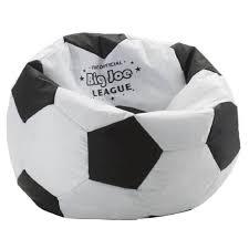 com comfort research big joe soccer ball bean bag chair kids bean bags kitchen dining