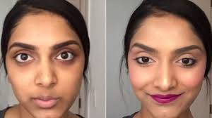 perfect way to hide dark circles with simple makeup steps