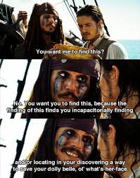 Pirates Of The Caribbean Quotes Cool Pirates Of The Caribbean Dead Man's Chest Jack Logic Indisputable