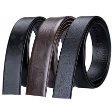 brand genuine leather belt without buckle high quality automatic leather belt no buckles mens business belt