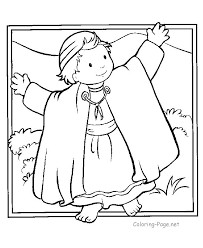 Joseph Coat Of Many Colors Coloring Page Coat Of Many Colors