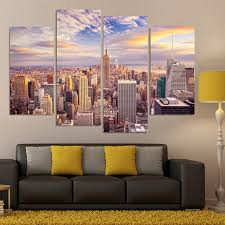 5 piece canvas painting wall picture for living room home decor