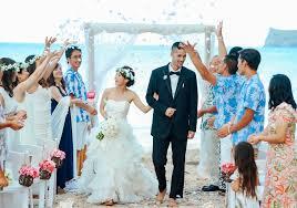 ハワイ挙式に参列するときの服装は 男性女性親族ゲスト別の服装