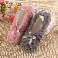 Online Shop <b>Women Slippers Winter</b> Warm Fur Inoor <b>Shoes</b> Flat ...