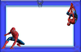 spiderman border png 2 image