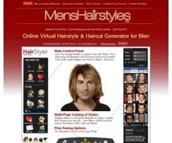 mens virtual hair styles