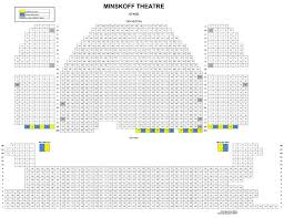 Minskoff Theatre Seating Chart Lion King Minskoff Theatre Seating Map Theatre Theater Seating