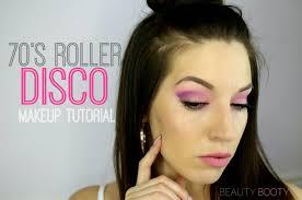 70 s roller disco makeup tutorial b e a u t y b o o t y
