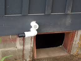 crawl space sump pump.  Pump Sump Plumbing And Vent Passing Through Rim Joist Out Of Crawl Space Inside Crawl Space Pump W