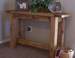 sofa table plans. Console Table In Just A Few Hours. Featuring Stretcher And Sturdy Design, With Breadboard Ends. This Well Thought Out Plan Has Been Built Hundreds Of Sofa Plans