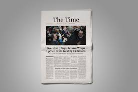 Newspaper Template Olden Times Old Style Newspaper Template Stockindesign