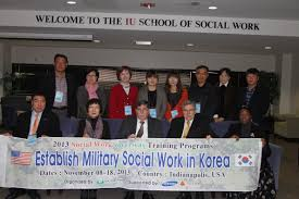 iu school of social work hosts korean leaders in military social print quality photo