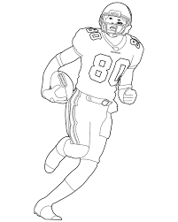 Coloring Pages Football Nfl Football Coloring Pages Exund